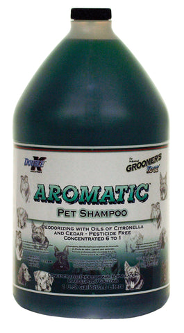 DOUBLE K GROOMER'S EDGE AROMATIC DEODORISING PET SHAMPOO for Dogs and Cats - 3.8 litres (1 Gallon)