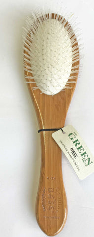 BASS A24 - THE DETANGLER BRUSH - NYLON BRISTLE; 100% BAMBOO HANDLE (A24)