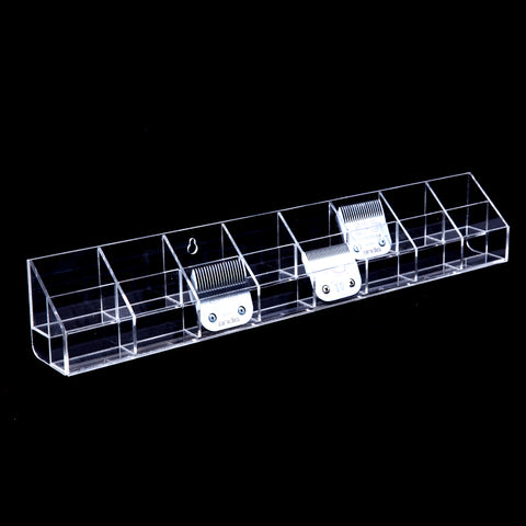 ACRYLIC MOUNTABLE BLADE ORGANISER (16 CELL)