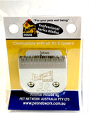 ANIMAL HOUSE PROFESSIONAL SERIES STAINLESS STEEL CLIPPER BLADES - (ASSORTED SIZES AVAILABLE)