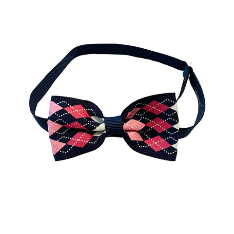 BOW TIE WITH DIAMOND PATTERN PK/10
