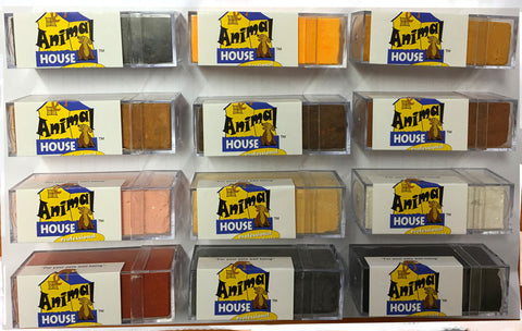 ANIMAL HOUSE CHALK BLOCK (AVAILABLE IN 12 COLOURS)