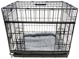 ANIMAL HOUSE CRATE CUSHIONS FOR DOGS AND CATS - GREY - VARIOUS SIZES AVAILABLE