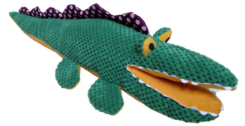"CUTE FRIENDS CROCODILE 6"" DOG TOY"