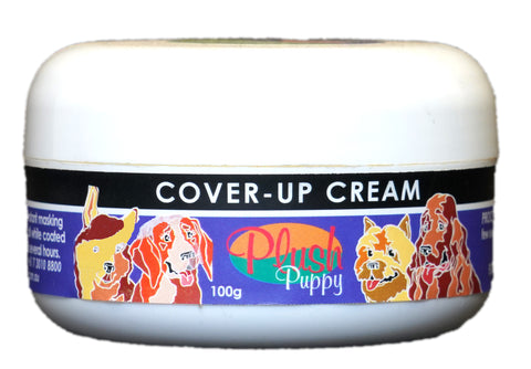 PLUSH PUPPY COVER UP CREAM 100GM for DOGS