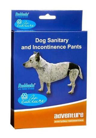 DOG SANITARY AND INCONTINENCE PANTS - various sizes available