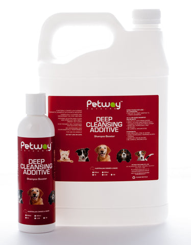 PETWAY PETCARE DEEP CLEANSING ADDITIVE - SHAMPOO BOOSTER (WH)