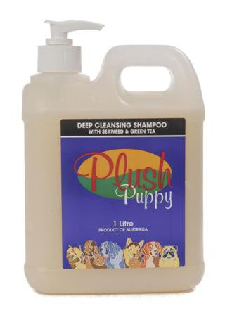 PLUSH PUPPY DEEP CLEANSING SHAMPOO 1LT
