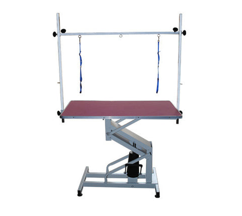 DELUXE HYDRAULIC GROOMING TABLE  (BLUE ONLY) & FRAME 105x60cm - N-201  (PHONE ORDERS ONLY AS FREIGHT APPLIES)