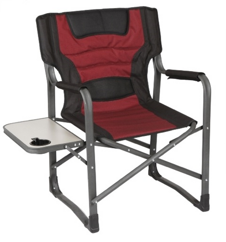 OZTRAIL DIRECTORS CHAIR WITH TABLE