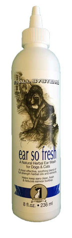 #1 ALL SYSTEMS EAR SO FRESH NATURAL HERBAL EAR WASH 236ml (8 fl oz)