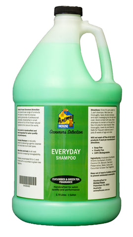 ANIMAL HOUSE GROOMERS SELECTION EVERYDAY SHAMPOO for Dogs and Cats - 3.79 litres (1 Gallon)