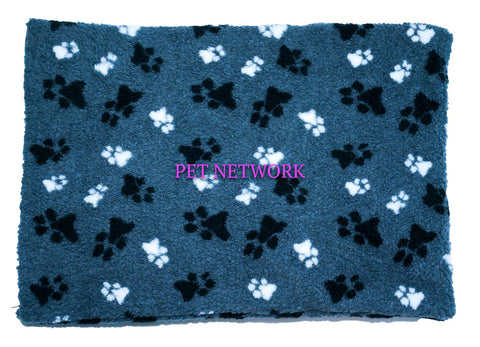 ANIMAL HOUSE FLEECE DOG CRATE MAT WITH REMOVABLE COVER