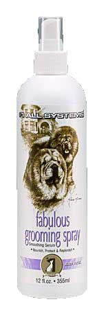 #1 ALL SYSTEMS FABULOUS DOG GROOMING SPRAY (12oz)