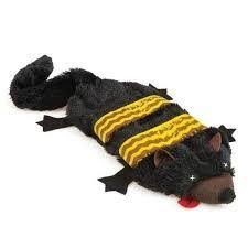 GRIGGLES UNSTUFFIES DOG TOY - FISHER CAT