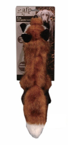 FOX PELT WITH SQUEAKER - STUFFINGLESS
