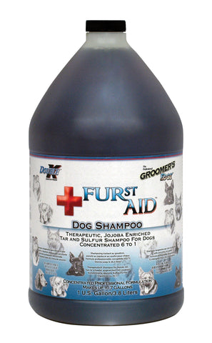 DOUBLE K GROOMER'S EDGE FURST AID PET SHAMPOO for Dogs - 3.8 litres (1 Gallon)