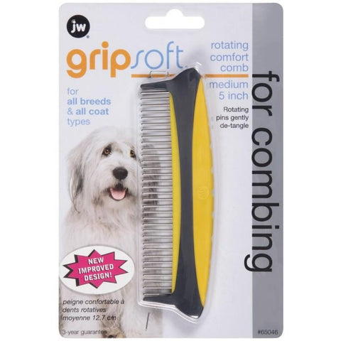 "GRIPSOFT ROTATING 5"" (13CM) MEDIUM COMB"