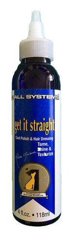 #1 ALL SYSTEMS GET IT STRAIGHT COAT POLISH FOR DOGS 118ml (4 fl oz)