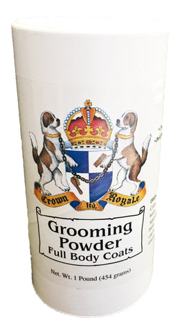 CROWN ROYALE GROOMING POWDER FULL BODY COATS 454GMS