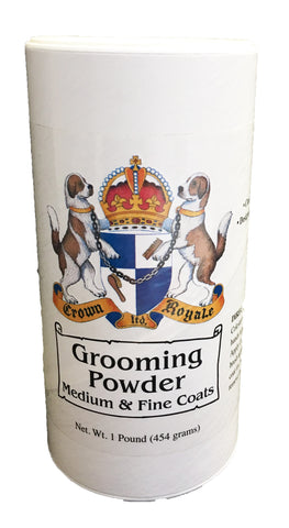 CROWN ROYALE GROOMING POWDER FINE/MEDIUM COATS 454GMS