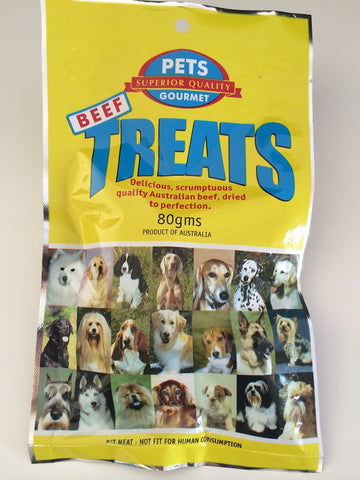 BEEF PET GOURMET TREATS