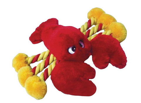 "LOBSTER DOG TOY - AVAILABLE IN 8"" OR 19"""
