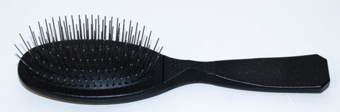 MADAN OVAL PIN BRUSH BLACK - SMALL