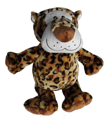 "MEDIUM LEOPARD 8"" DOG TOY"