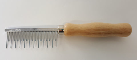 ANIMAL HOUSE SHEDDING COMB - LONG COATS - MADE IN ENGLAND