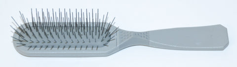 MADAN OBLONG PIN BRUSH  - GREY