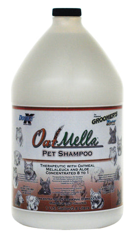 DOUBLE K GROOMER'S EDGE OATMELLA PET SHAMPOO for Dogs and Cats - 3.8 litres (1 Gallon)