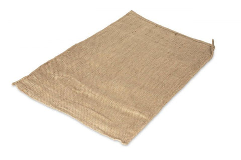 HESSIAN SACK DOG BED COVER