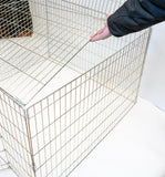"ANIMAL HOUSE DOG PEN WITH LID 40"" X 40"" X 30"" (101 X 101 X 76cm)"