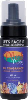 PLUSH PUPPY LET'S FACE IT - FOAMING FACE SHAMPOO 150ML