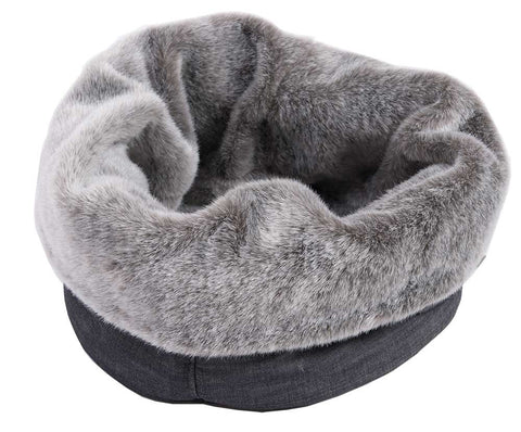 MAISON DOG FAT CAT POD - SMOKE - FITS DOG OR CAT UP TO 5 KG