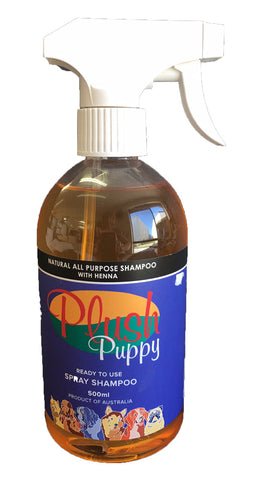 PLUSH PUPPY ALL PURPOSE HENNA SHAMPOO 500ML (READY TO USE)