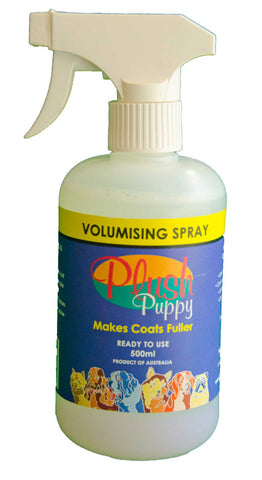 PLUSH PUPPY VOLUMISING SPRAY 500ML Ready To Use