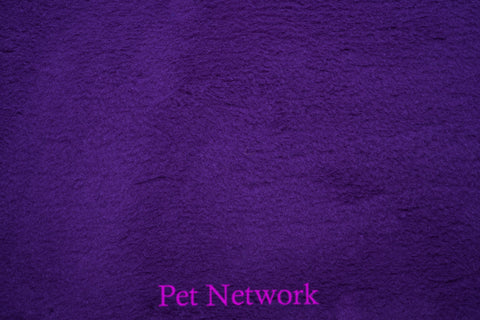 VET BED - GREEN BACKED - DARK PURPLE