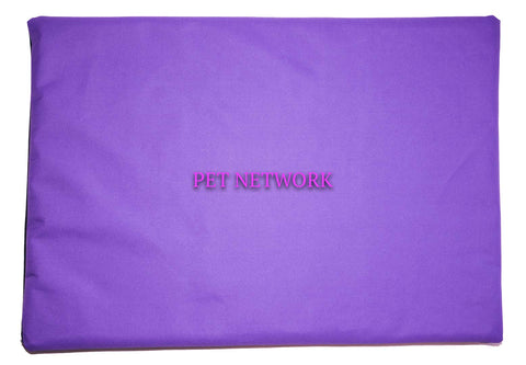 ANIMAL HOUSE WATER RESISTANT DOG CRATE MAT WITH REMOVABLE COVER