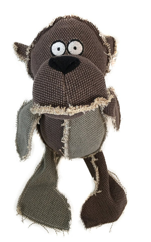 K9 CUDDLIES - PATCHWORK PAL dog toy with squeaker