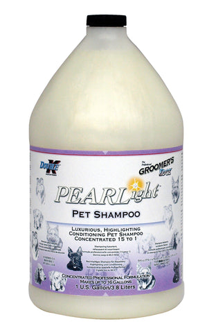 DOUBLE K GROOMER'S EDGE PEARLight PET SHAMPOO for Dogs and Cats - 3.8 litres (1 Gallon)
