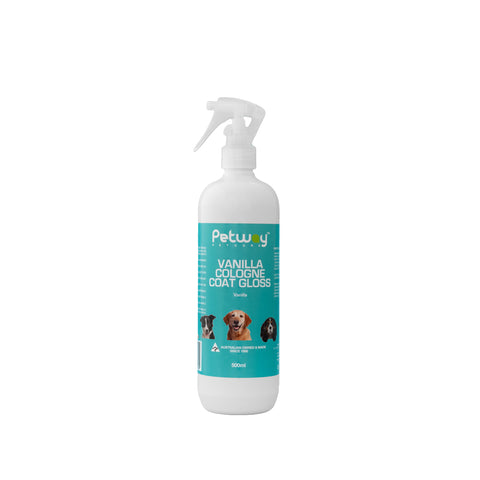PETWAY PETCARE VANILLA COLOGNE COAT GLOSS 250ml