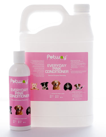 PETWAY PETCARE PINK CONDITIONER  - ASSORTED SIZES AVAILABLE (WH)