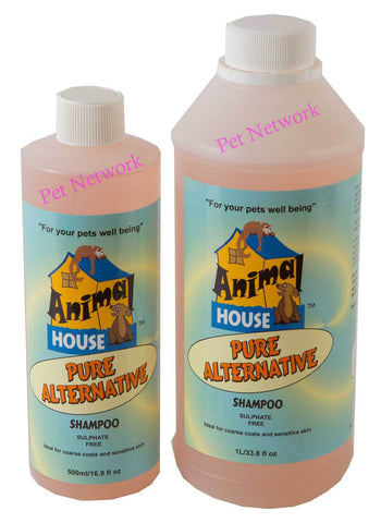 ANIMAL HOUSE PURE ALTERNATIVE SHAMPOO - 500 ML