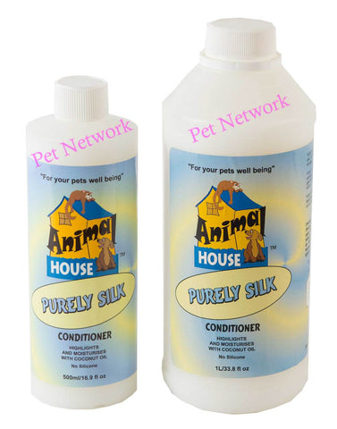 ANIMAL HOUSE PURELY SILK CONDITIONER - 500ML