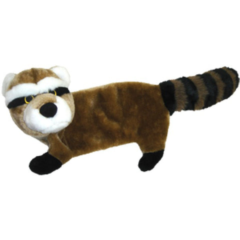 "FLAT BODY RACCOON 30"" DOG TOY"