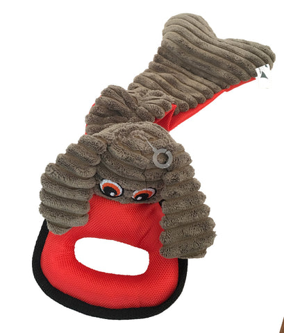 K9 CUDDLIES - RING PULL dog toy with squeaker