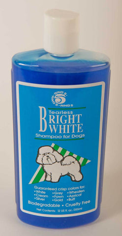 RING 5 - TEARLESS BRIGHT WHITE SHAMPOO 12OZ (355ML)