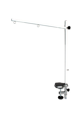 MEDIUM GROOMING ARM WITH NOOSE - 90(H) x 60cm (arm) (TABLE NOT INCLUDED) - PN104